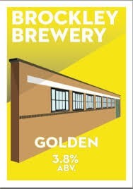 Brockley Brewery Golden Ale